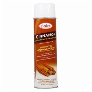 Claire Low V.O.C. Air Fresheners & Deodorizers - Cinnamon (SHR-CLR162)