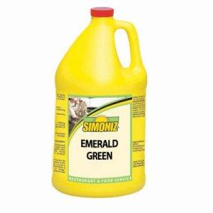 Simoniz Emerald Green Liquid Dishwashing Detergent, 4 Bottles (E0985004)