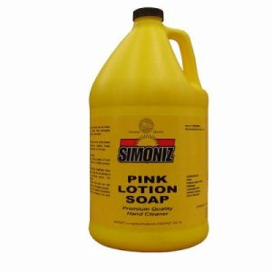 Simoniz Pink Lotion Hand Soap, Gallon, 4 Bottles (SIM-CS0225004)