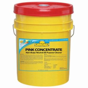 Simoniz Pink Concentrate All Purpose Cleaner, 5 Gallon Pail (SIM-P2670005)