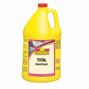 Simoniz Total Hand Soap, 4 Bottles (SIM-K1930004)