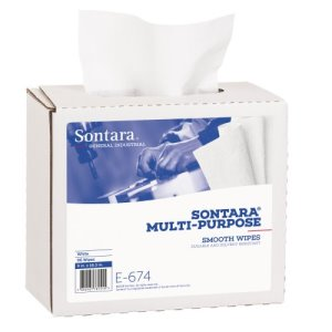 Sontara Multi-Purpose Wipers, White, 96 Wipes (E674BX)