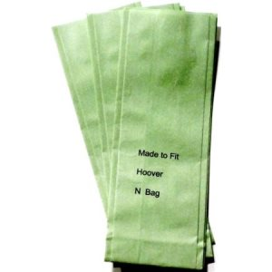 Hoover Type N Replacement Vacuum Cleaner Bags, 100 Bags (GK-HovN)