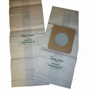 Nilfisk CarpeTreiver 28 Upright Vacuum Replacement Bags, 36 Bags (GK-CarpTrvr)
