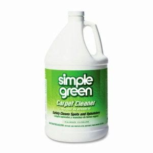 Simple Green Carpet Cleaner,Deodorizes,Nonionic/Biodegradable,1 Gal (SMP15128)
