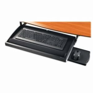 Compucessory Underdesk Keyboard Drawers, Black (CCS25005)