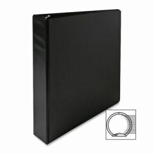 "Sparco 3-Ring Binder, 1-1/2"" Capacity, 11""x8-1/2"", Black (SPR03401)"