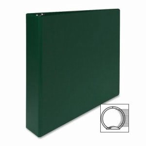 "Sparco 3-Ring Binder, 1-1/2"" Capacity, 11""x8-1/2"", Green (SPR03404)"