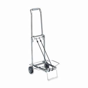 "Sparco Compact Luggage Cart,150 lb Cap.,Open 14-3/4""x13-3/4""x35"",CE (SPR01753)"