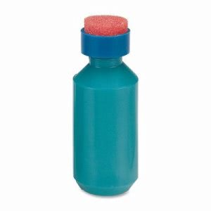 Sparco Squeeze Moistener Bottle, 2 oz. Capacity, Unbreakable, Blue (SPR01487)