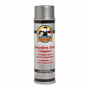 Genuine Joe Stainless Steel Cleaner and Polish, 15-oz. Aerosol Can (GJO02114)
