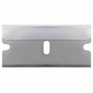 Sparco Single Edge Replacement Blades, 5/PK, Silver (SPR01485)