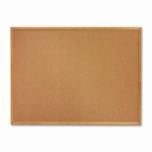 Sparco Cork Board, 4'x3', Wood Frame (SPR19768)