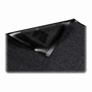 "Genuine Joe Platinum Wiper Mat, 33.50""x 56"", Black, Each (GJO59354)"