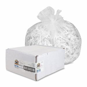 Genuine Joe 45 Gallon Clear Trash Bags, 40x48, 16mic, 250 Bags (GJO01758)