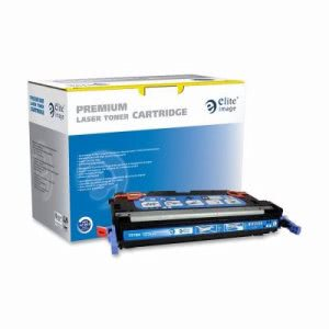 Elite Image Laser Cartridge, 6000 Page Yield, Cyan (ELI75184)
