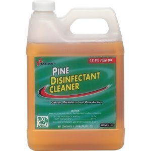 SKILCRAFT Disinfectant Cleaner, Concentrated, 1 Liter Bottle, 24/CT (NSN3424143)