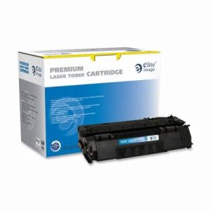 Elite Image Toner Cartridge, 3000 Page Yield, Black (ELI75335)