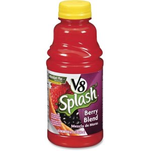 V8 V8 Splash Juice Drinks, 16oz, 12./PK, Berry Blend (CAM5497)