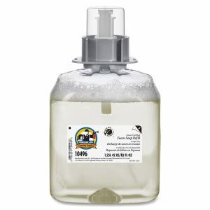 Genuine Joe Soap Refills, 1250 ml, Green Seal Certified, Clear (GJO10496)