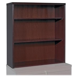 "Lorell Stack-on Bookcase,36""x13""x39"",Mahogany (LLR87818)"