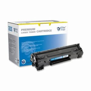 Elite Image Toner Cartridge, 1500 Page Yield, Black (ELI75394)