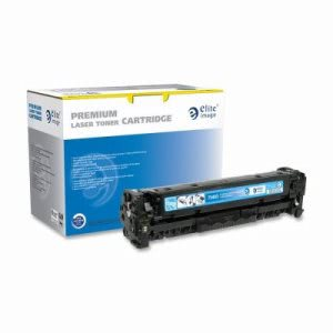 Elite Image Toner Cartridge, 2800 Page Yield, Cyan (ELI75403)