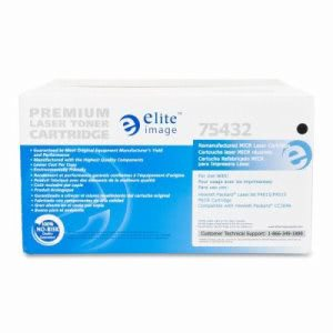 Elite Image Micr Toner Cartridge, 24000 Page Yield, Black (ELI75432)