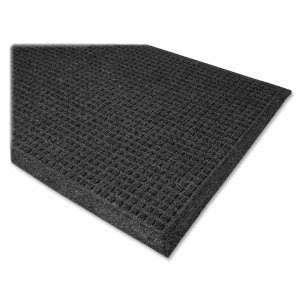 Genuine Joe Eternity Mats, 2'x3', Charcoal Gray (GJO58935)