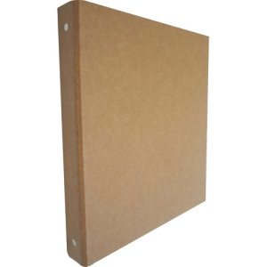 "Aurora 3-Ring Binder, Recycled, 1"", Brown/Kraft, Each (AUA10252)"