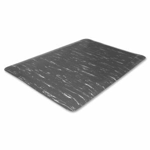 Genuine Joe Anti-Fatigue Mat, 3'x5', Gray Marble (GJO58840)
