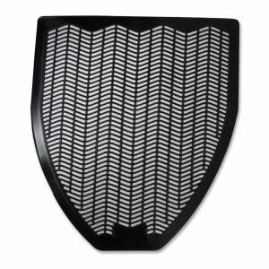 Genuine Joe Deodorizing Z-Mat Urinal Mat, Black (GJO58330)