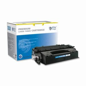 Elite Image Toner Cartridge, 6,500 Page Yield, Black (ELI75435)