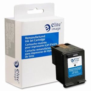 Elite Image Remanufactured Ink Cartridge, 600 Page Yield, Black (ELI75475)