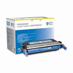 Elite Image Toner Cartridge, 12,000 Page Yield, Cyan (ELI75483)