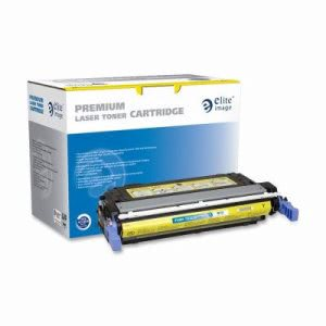 Elite Image Toner Cartridge, 12,000 Page Yield, Yellow (ELI75484)