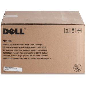 Dell Toner Cartridge, f/5330, 20,000 Page Yield, Black (DLLNY313)