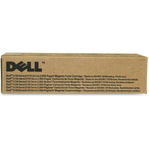 Dell Toner Cartridge, f/ 2150, 2,500 Page Yield, Magenta (DLL8WNV5)