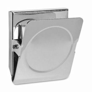 "Business Source Magnetic Metal Clip, Large, 2.25"", Chrome (BSN37510)"