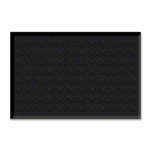 "Genuine Joe UltraGuard Berber Traffic Mat, 48""x72"", Charcoal Black (GJO02404)"