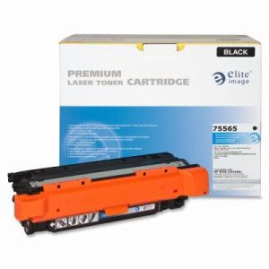 Elite Image Toner Cartridge, 5,000 Page Yield, Black (ELI75565)