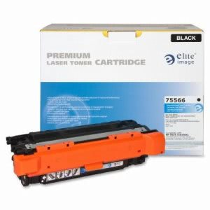 Elite Image Toner Cartridge, 10,500 Page Yield, Black (ELI75566)