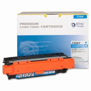 Elite Image Toner Cartridge, 7,000 Page Yield, Cyan (ELI75567)