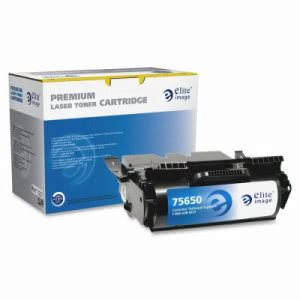 Elite Image Toner Cartridge, 21,000 Page Yield, Black (ELI75650)