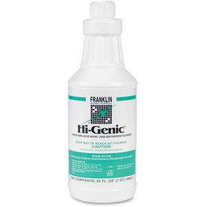 Franklin Hi-Genic Floral Non-Acid Bathroom Cleaner, 32 oz., Each  (FRKF270012)