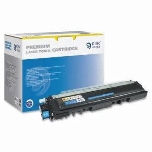Elite Image Toner Cartridge, 1,400 Page Yield, Cyan (ELI75660)