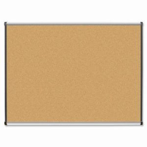 "Lorell Natural Cork Board, 4""x3"", Satin Finish (LLR60647)"