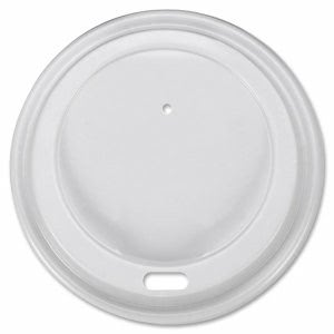 Genuine Joe Ripple Cup White Lids, Fits 10 - 20oz Cups, 1,000 Lids (GJO11259CT)