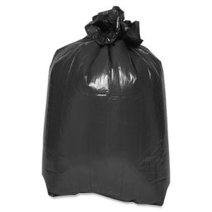 "Special Buy Trash Container Liners, 38""x58"", 1.5mil, LD, 100/CT, Black (SPZLD385820)"