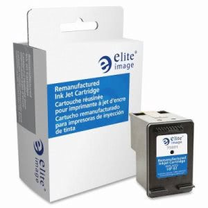 Elite Image Ink Cartridge, 190 Page Yield, Black (ELI75801)